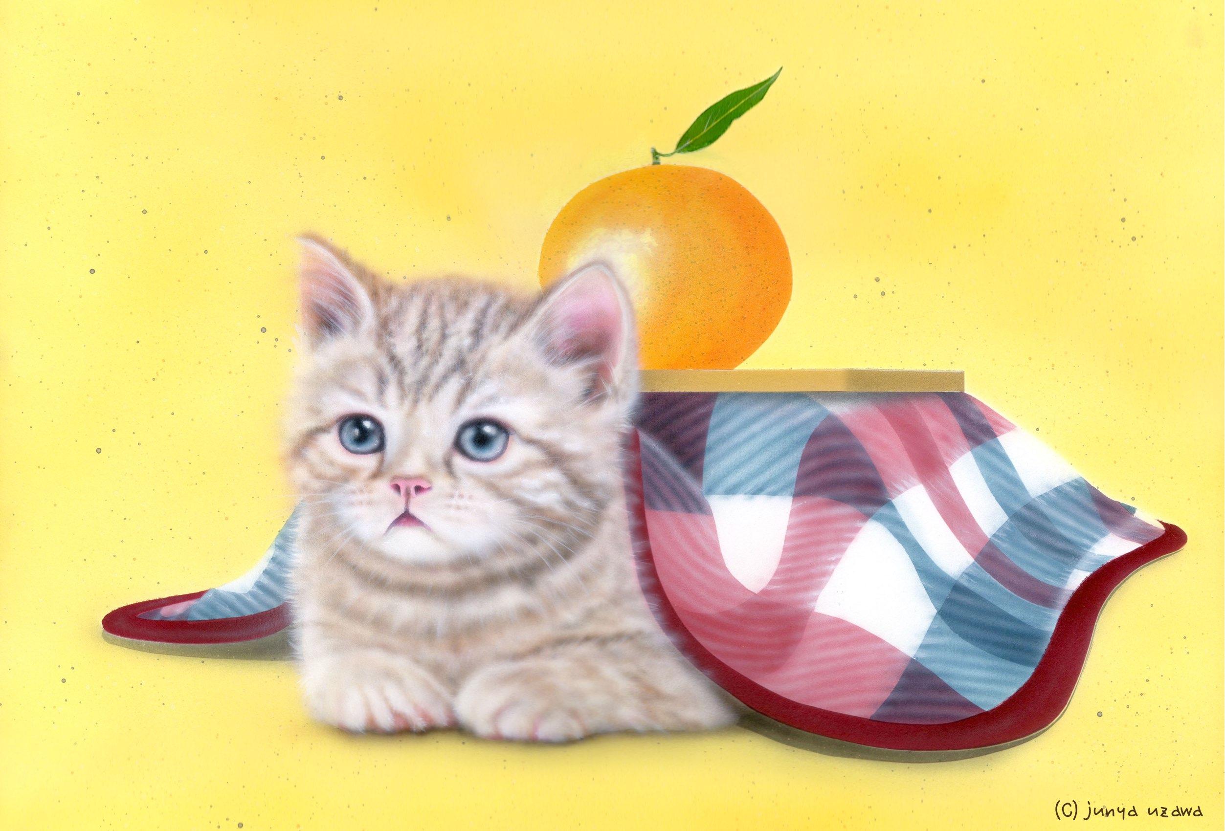 どうぶつの絵 [ペット編]:かわいい動物(猫、犬、うさぎ)のリアル